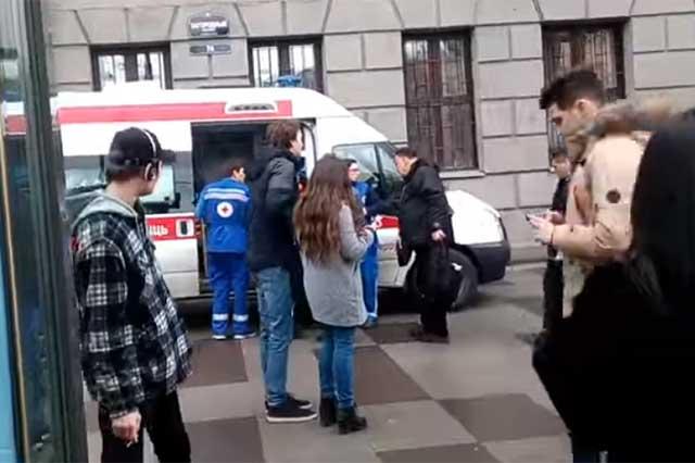 Explosión en el Metro de San Petersburgo deja un saldo de 10 muertos