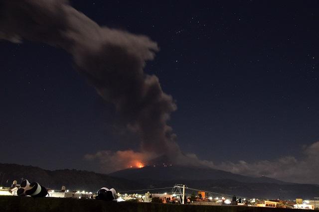 Actividad del volcán dentro de lo previsto en la alerta amarilla 2: PC