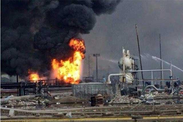 En Pajaritos les dijeron que la fuga estaba controlada y vino la explosión