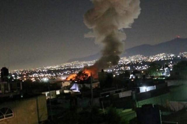 Explosión de taller de pirotecnia en Tultepec deja un saldo de 4 muertos