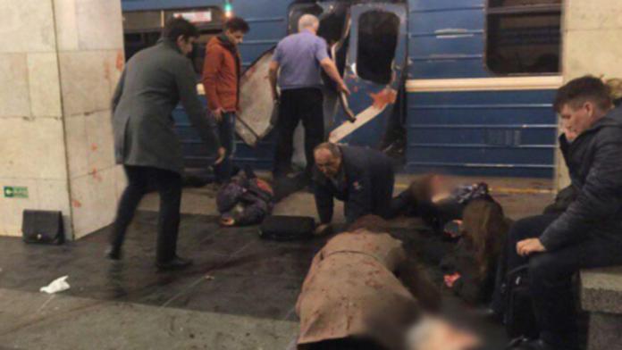 Sube a 11 el número de muertos por ataque al Metro de San Petersburgo