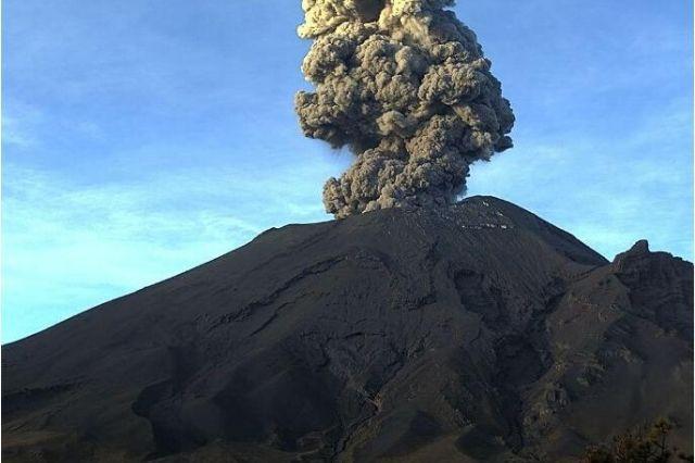 Nueva explosión en el Popo; lleva 5 en una semana