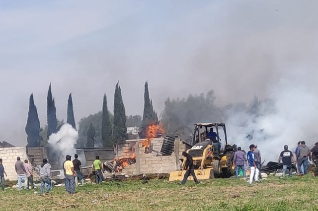 Video: Graban momento exacto de la explosión en Zumpango, Estado de México