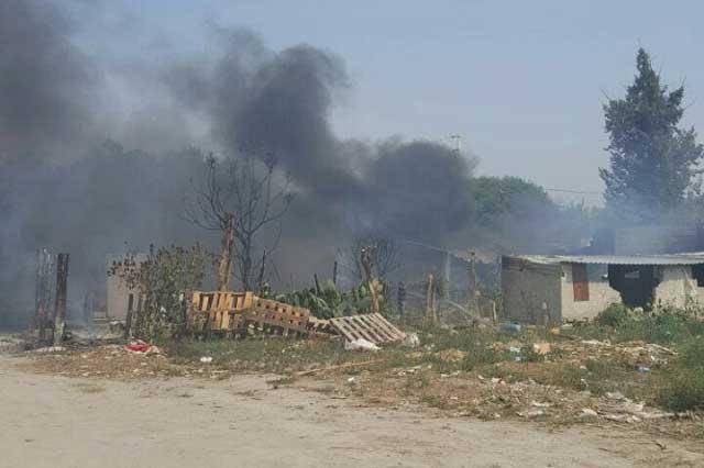 Explota en Tochtepec depósito clandestino de combustible