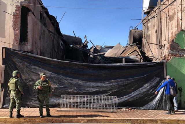 Explosión en baños de vapor moviliza al Ejército en Cholula