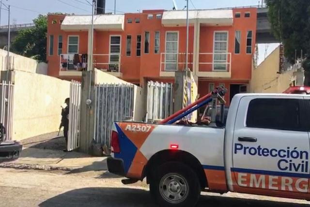 Explota tanque de gas, hiere a vecina y mata a perro en San Felipe