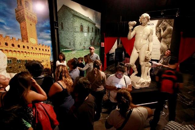 La exposición Miguel Ángel, El Divino concluyó su estancia en Puebla