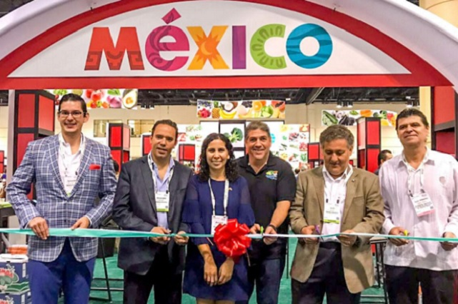 Presentes en expo PMA Fresh Summit 120 empresas mexicanas