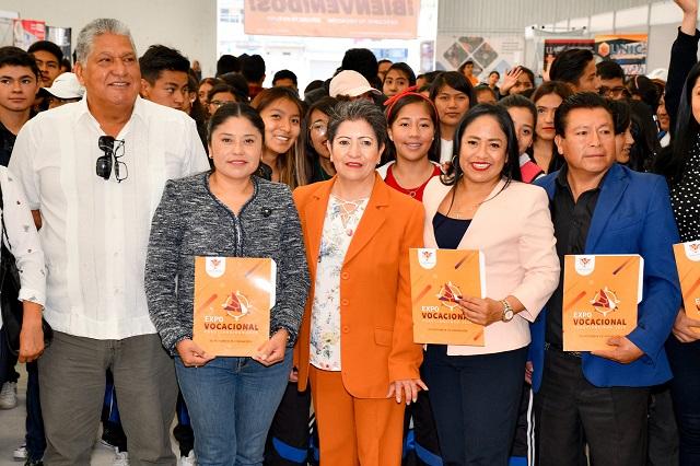 Un éxito, Segunda Expo Vocacional 2020 en Cuautlancingo