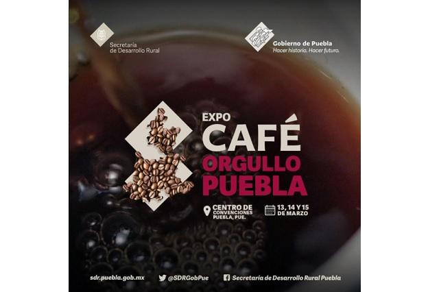 Conferencias y concursos en la Expo Café Orgullo Puebla