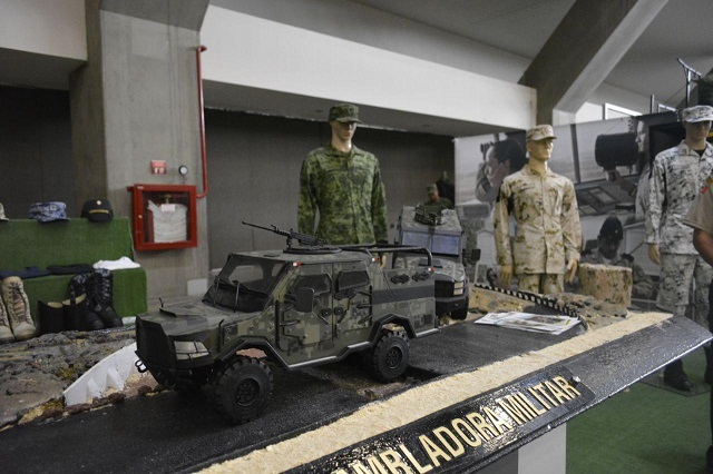 Ya empezó la Expo militar La Gran Fuerza de México en Puebla