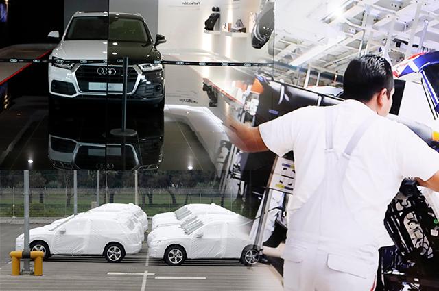 Cae 25% la exportación de Audi en junio, revela el Inegi
