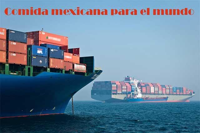 México, gran exportador de productos agroalimentarios en el mundo