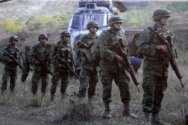 El ejército denuncia ante MP agresiones de huachicoleros