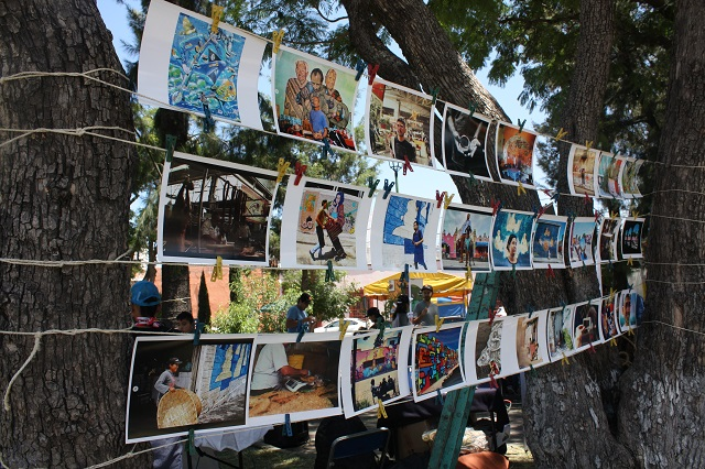 La Rueda concluye murales en Los Remedios, La Luz y La Acocota