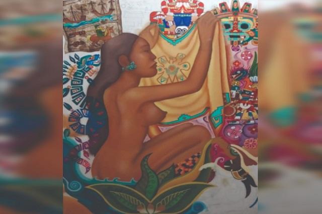 """Exposición artística """"Mujeres Indígenas"""" en el Barrio del Artista"""