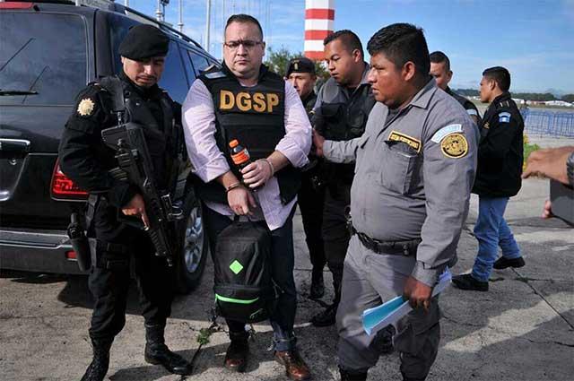 Guatemala extradita al ex gobernador Javier Duarte