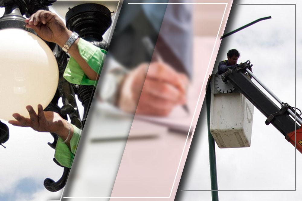 Gana EYPO licitación para alumbrar Puebla por 423 mdp