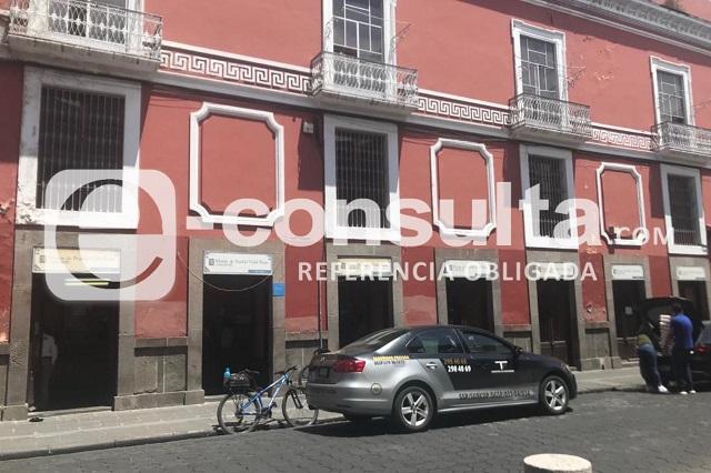 Comando asalta casa de empeño en el centro de Puebla
