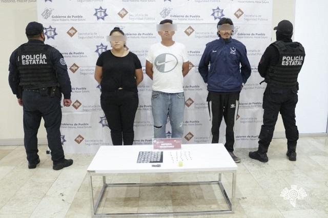 Caen 5 narcomenudistas en Puebla y Amozoc