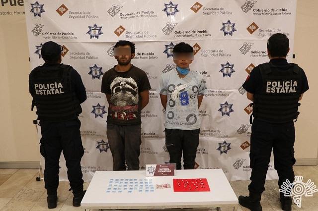 Detienen a 6 integrantes de bandas delictivas en Chilac y Puebla