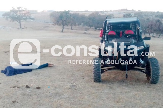 Vuelca en su motoneta y muere en el Cerro de Santa Cruz Alpuyeca
