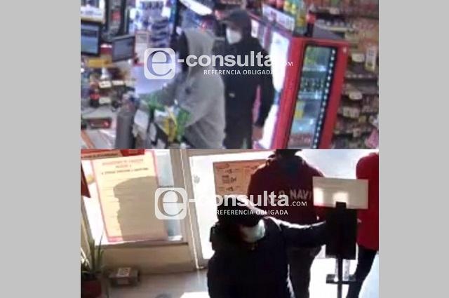 Persiguen y atrapan a cinco asaltantes de tiendas Oxxo