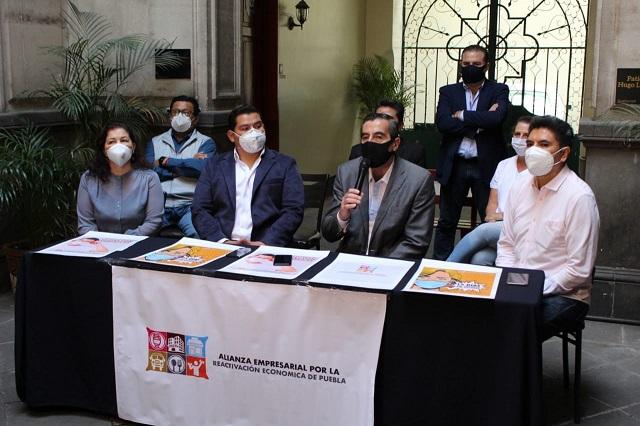 Forman alianza empresarial para la reactivación en Puebla