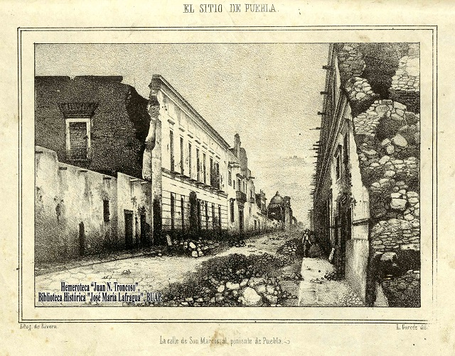 Relata historiador BUAP la división  de Puebla ante invasión de Francia
