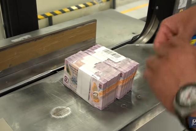 ¿Cómo es la fabricación de billetes de 50 pesos?