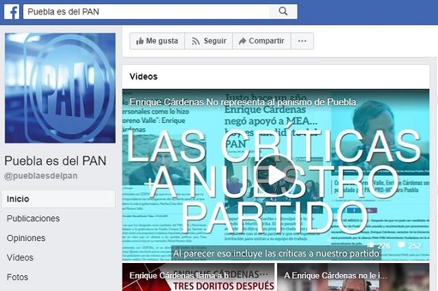 PAN denuncia campaña negra contra Cárdenas