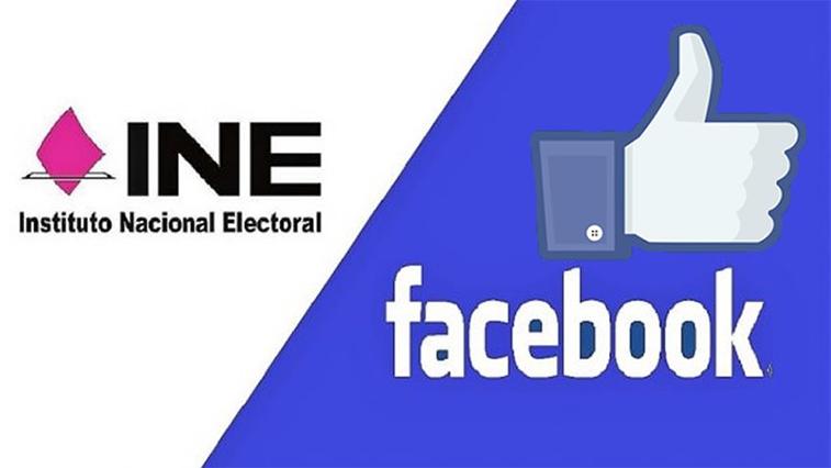 Facebook e INE firman convenio para difundir elecciones