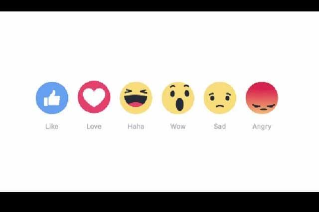 Me encanta, Me divierte y Me enoja se unen al Me Gusta en Facebook