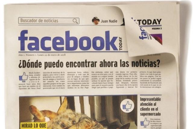 Facebook se arrepiente y seguirá mostrando noticias de medios