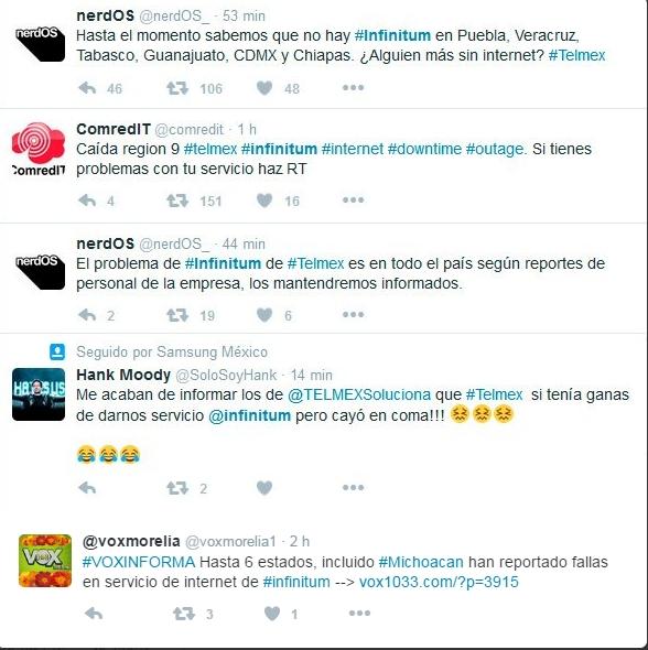 Se cae servicio de Telmex en 7 estados; empresa denuncia vandalismo