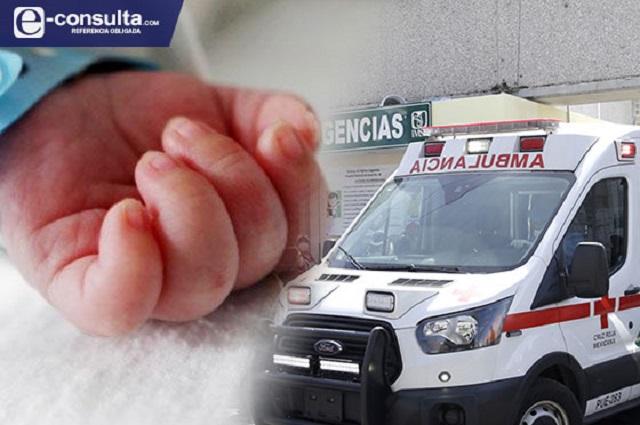 Acusan negligencia por muerte de bebé en IMSS La Margarita