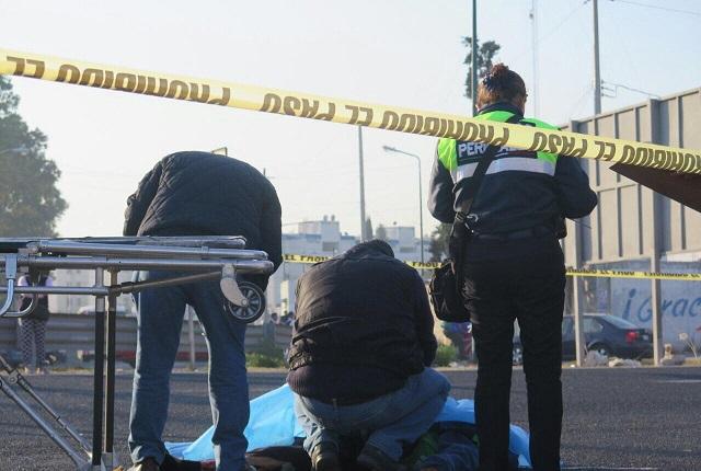 Fallece hombre atropellado frente a la Central de Abastos