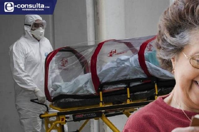 Mayores de 50 años, 8 de cada 10 muertos por Covid en Puebla