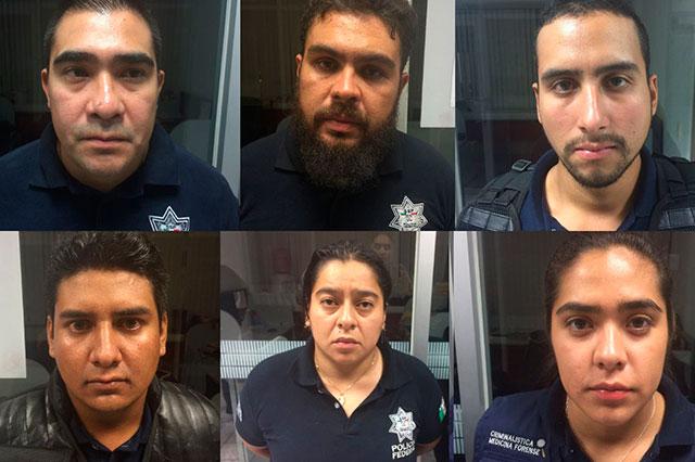 Detienen a falsos policías federales relacionados con robo a transportes