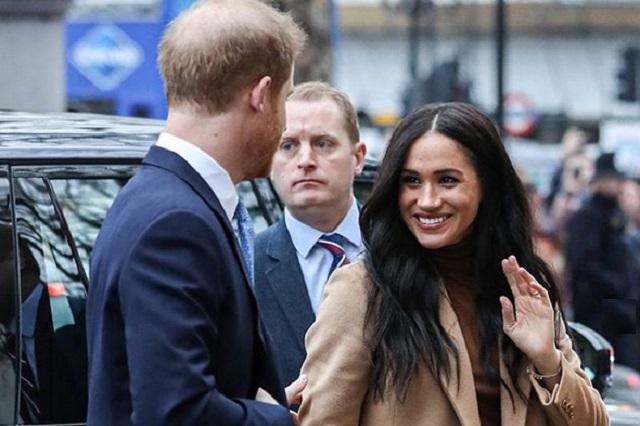 Meghan Markle y el príncipe Harry se separan de la Familia Real Británica