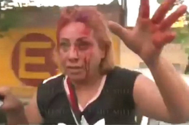 Familiares de ladrones van tras militar que los baleó y policías los repelen