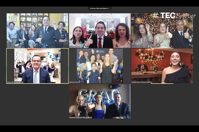 Con ceremonia virtual se gradúa generación 2020 del Tec de Monterrey