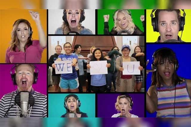 Famosos de EU unen sus voces en una canción para apoyar a Hillary Clinton
