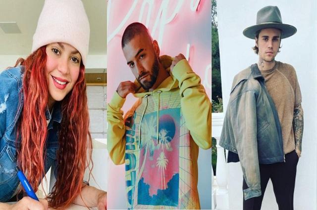 Justin Bieber, Shakira y otros muestran solidaridad con el pueblo colombiano