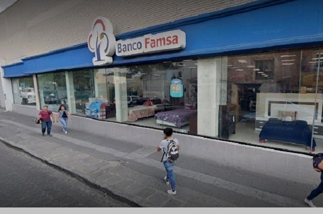 Condusef alerta de intentos de fraude a clientes de Banco Famsa