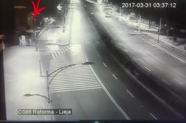 Aparece polémico fantasma en video del BMW en accidente de Reforma