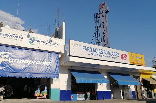 Por pánico, se registra desabasto en farmacias de Acatlán