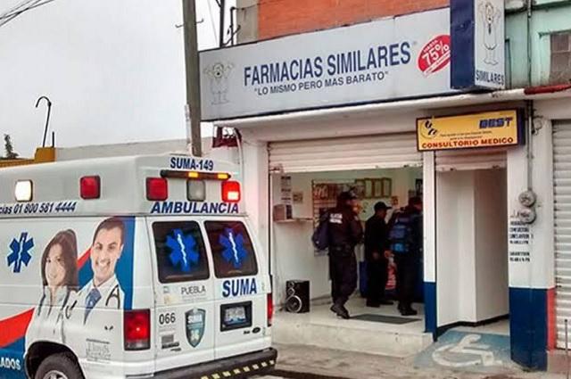 Asaltan 3 Farmacias Similares en una noche en Texmelucan