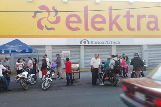 Aumentan asaltos a tiendas Coppel y Elektra en Atlixco