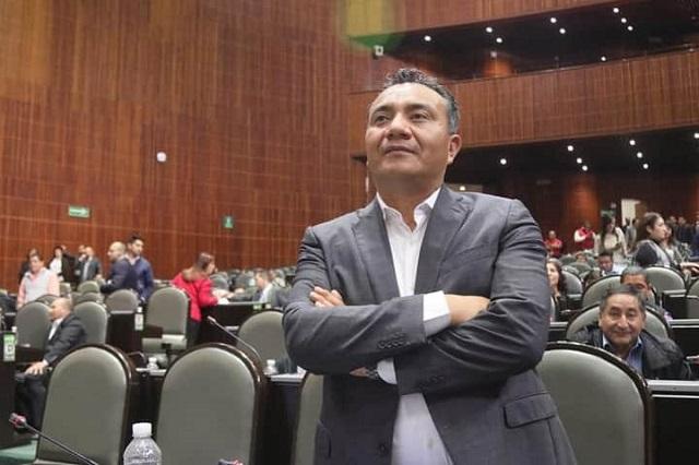 Diputado federal de Morena informa que dio positivo a Covid